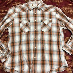 Lucky Brand Western Pearl Snap Shirt Long Sleeve